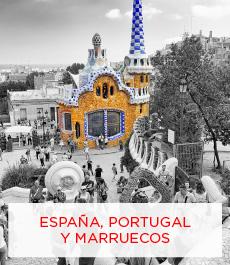 ESPAÑA-PORTUGAL- MARRUECOS