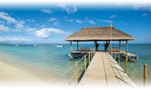 isla mauricio luna de miel: hotel la pirogue resort & spa (beach pavilion)