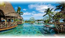 isla mauricio luna de miel: hotel la pirogue resort & spa (beach pavilion) (pc)