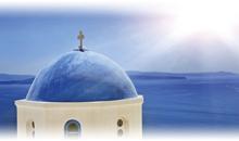 grecia milenaria con santorini