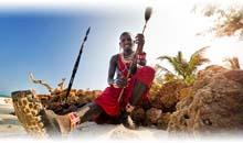 ruta masai y playa de mombasa