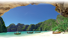 norte de tailandia al completo, phuket y phi phi
