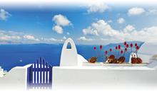 grecia clasica con santorini