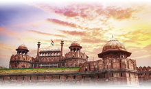 india: triangulo dorado con estilo (media pensión)
